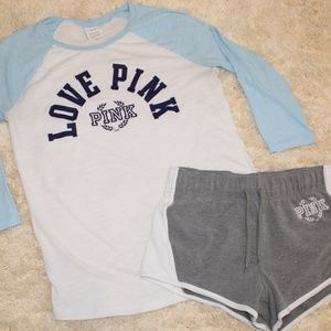 VS PINK Baseball Outfit
